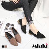 尖頭鞋.韓流時尚通勤娃娃鞋