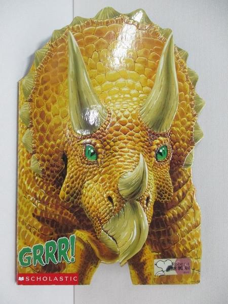 【書寶二手書T2/少年童書_KUT】Dini Close-Up: Grrr! Triceratops