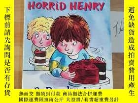 二手書博民逛書店A罕見GIANT SLICE OF HORRID HENRY 3 Books in 1Y246207