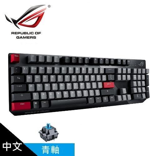 【ASUS 華碩】ROG Strix Scope PBT 機械式電競鍵盤 (中文 青軸)