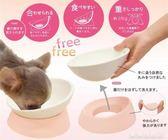 日本工廠尾單寵物用食盆扁臉貓碗斗牛碗狗碗斜口碗防滑耐磨