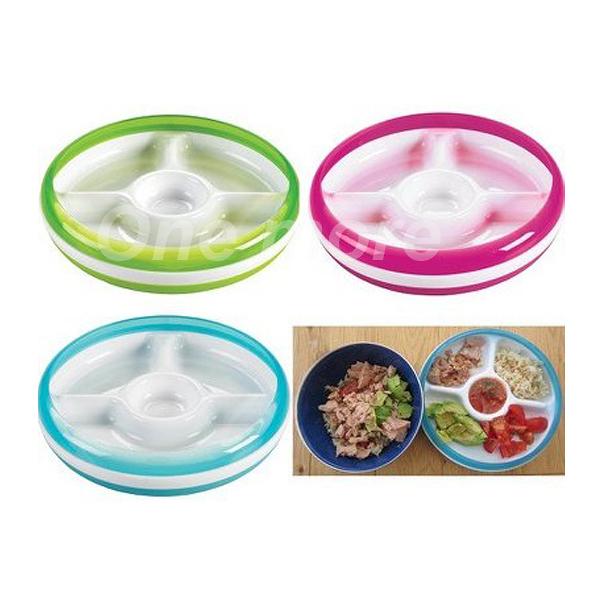 【100%正品】美國OXO 分類餐盤 幼兒餵食防滑4格餐盤