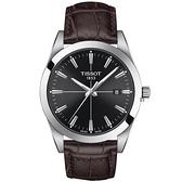 TISSOT天梭 紳士石英手錶-40mm T1274101605101