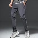 夏季速幹褲男透氣彈力寬鬆戶外登山運動褲子男士休閒薄款【果果新品】