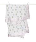 【美國 Little Giraffe】嬰兒被 頂級攜帶毯 - 豪華彩色點點嬰兒毯(粉紅款)  LXDBKTPK