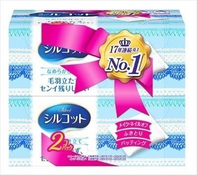 絲花 化妝棉 80+2 (兩盒組)【迪寶生活館】