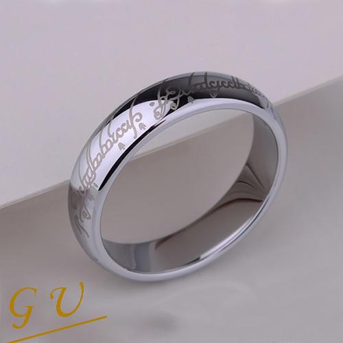 【GU】W21a情侶對戒男戒指女戒鎢鋼鋼戒生日禮物 GresUnic Agloce 白烏玄至尊魔戒 單賣