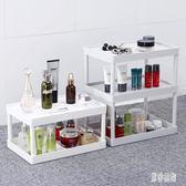 多層桌面收納架浴室收納架置物化妝品儲物架 BF3277『男神港灣』