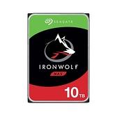 Seagate 那嘶狼 IronWolf 10TB 3.5吋 NAS專用硬碟 (ST10000VN0008)