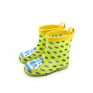 雨鞋 黃色 童鞋 中童 no108