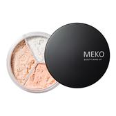 MEKO羽透光柔焦定妝蜜粉02蕾絲粉膚(珠光) 【康是美】