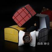 高檔亮髮飾品髮飾展示禮品盒子單個手錶盒子收納包裝禮品盒子 1件免運