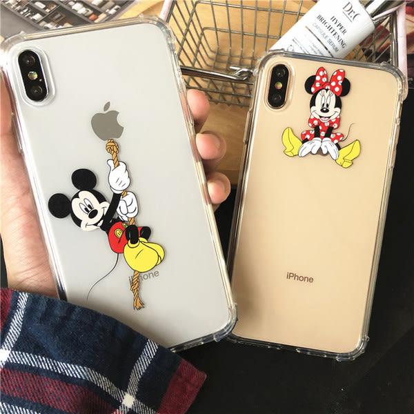 【SZ14】創意米奇米妮 iphone XS MAX手機殼 iphone XR XS手機殼 iphone 8plus手機殼 iphone 6s plus手機殼