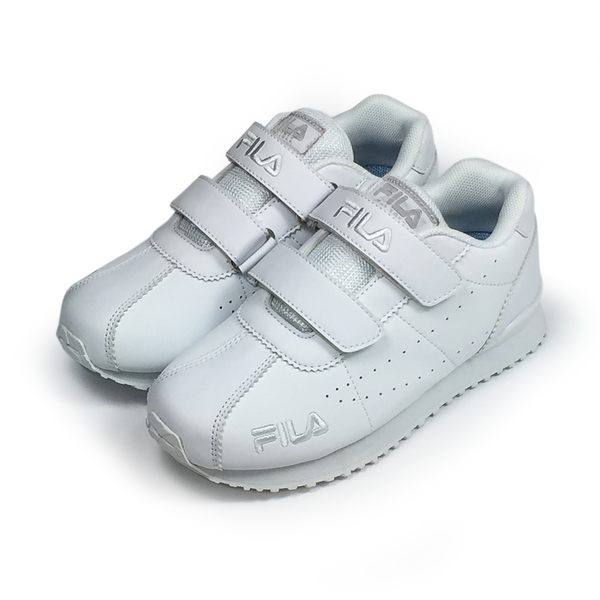 《FILA》兒童 EVA經典慢跑鞋 白色 3-J403T-100