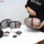 大容量旅行收納化妝包小號便攜化妝袋女隨身迷你手拿包簡約零錢包【博雅生活館】