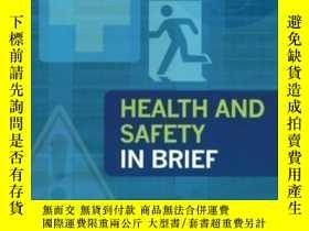 二手書博民逛書店Health罕見And Safety In Brief-健康與安全概述Y436638 John Ridley