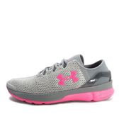 Under Armour UA W Speedform Apollo 2 [1266241-052] 女 慢跑鞋 灰 粉紅