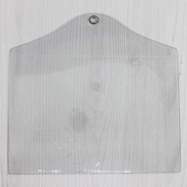 8開 吊式透明套 信億 證書吊袋 (橫式)/一個入(定45) PVC透明公告欄袋 證書袋 Trust 405mm x 280mm