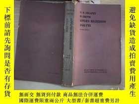 二手書博民逛書店APPLIED罕見REGRESSION ANALYSIS Second Edition 應用回歸分析第二版(346