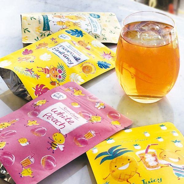 日本紅茶【卡雷爾恰佩克Karel Capek】山田詩子 水蜜桃冰茶 冷泡茶包 袋裝8包入