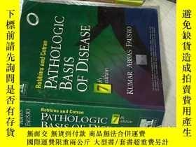 二手書博民逛書店PATHOLOGIC罕見BASIS OF DISEASE 7th
