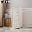 【Mr.box】鄉村風歐式 細縫櫃(單門...