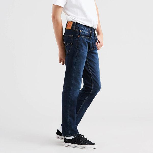 [買1送1]Levis 男款牛仔褲 / 511™ 低腰窄管 / 彈性布料