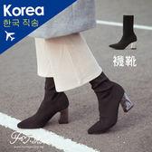 靴.金屬高跟彈性襪靴-FM時尚美鞋-韓國精選.BRISK