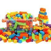 兒童大顆粒塑膠拼裝搭插益智積木1-2男女孩寶寶3-6周歲玩具批發