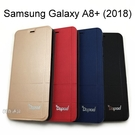 【Dapad】經典隱扣皮套 Samsung Galaxy A8+ (2018) 6吋