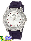 [美國直購 USAShop] 手錶 Juicy Couture Women s 1901067 Pedigree Purple Silicone Strap Watch $5889
