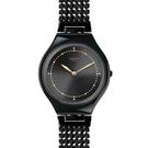 Swatch  獨特夜黑魅力石英腕錶   SVOB103G