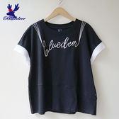 American Bluedeer-刺繡開衩上衣