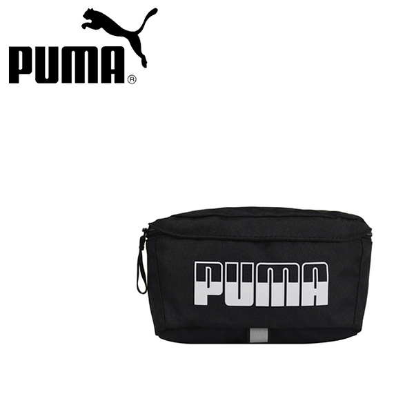 【橘子包包館】PUMA 腰包/側背包/斜背包 07575101 黑色