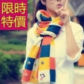 羊毛圍巾-針織創意秋冬加厚禦寒男女圍脖2色61y81【巴黎精品】