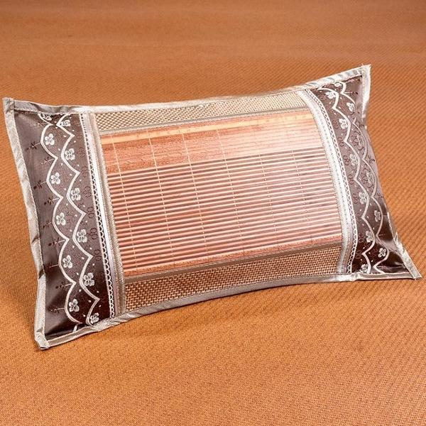 夏天涼枕頭雙面學生成人茶葉枕夏季冰絲藤枕家用涼爽麻將竹涼枕頭 一木良品