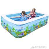 漫遊寶寶嬰兒童充氣游泳池家用成人超大號加厚家庭寶寶戲水池小孩 酷斯特數位3c YXS