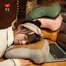 午睡枕 夏季藤席午睡枕趴趴枕頭小學生桌上趴睡枕抱枕辦公室午休神器兒童