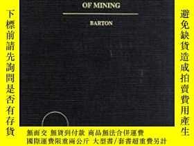 二手書博民逛書店英文原版書罕見Canadian Law of Mining 加拿
