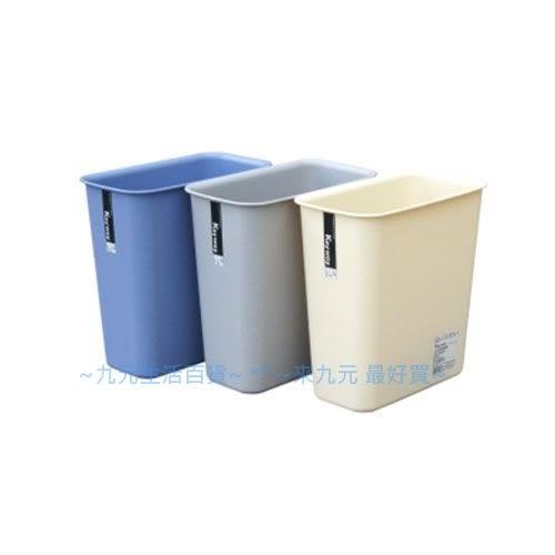 【九元生活百貨】聯府 C3303 小長型京都垃圾桶