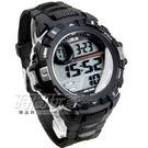 Lotus 大錶面運動休閒電子錶 多功能 電子錶 男錶 防水手錶 學生錶 TP3143M-01黑黑