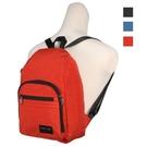 背包族【YESON 永生】休閒後背包(台灣製造)/防潑水/耐用_黑、藍、橘色