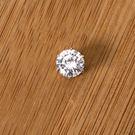 【ND257】6MM白鑽磁鐵耳環
