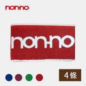 non-no儂儂褲襪《4條》緹花運動巾-1831