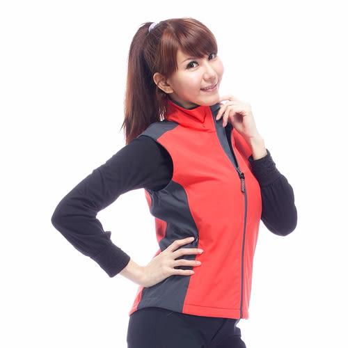 【JORDON】WINDCOVER 軟殼衣 女彈性防風透氣背心 0616