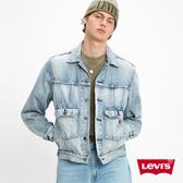 Levis 男款 牛仔外套 / 休閒版型 / 復古解構再造設計 / 春夏形象款