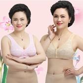 媽媽內衣文胸中老年內衣女胸罩無鋼圈全棉背心式文胸 萬客居