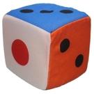 15cm 海綿骰子 鈴鐺骰子 6吋骰子/一袋10個入(促100) 布骰子 安全骰子 海綿色子-CF61316