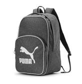 PUMA 灰白 大logo 基本款 後背包 (布魯克林) 07665202