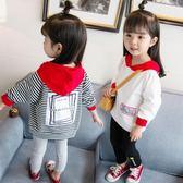 女童長袖內搭衣          兒童長袖t恤洋氣內搭可愛女寶寶上衣2韓版小孩秋衣3歲潮 伊蘿鞋包精品店